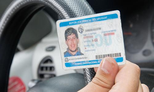 libreta de conducir en Uruguay