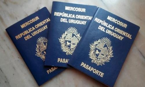 pasaporte uruguayo por primera vez